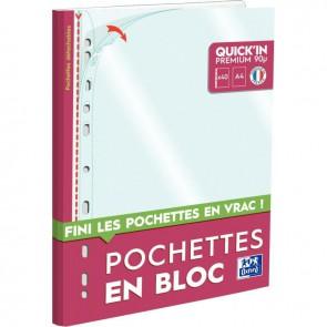 BLOC 40 POCH PERF A4 PP 9/100