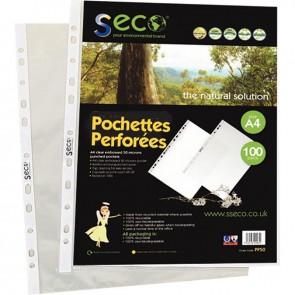 SAC 100 POCH PERF BIODEG 5/100