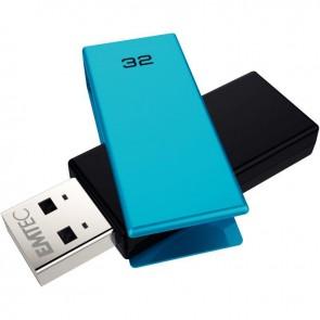 CLE USB EMTEC 2,0 C350 32GO BL
