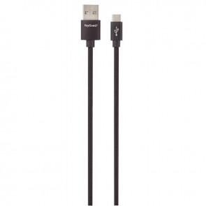 CABLE MICRO USB NYLON 1.2M NR
