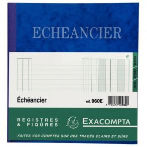 PIQ ECHEANCIER 72P 21X19CM