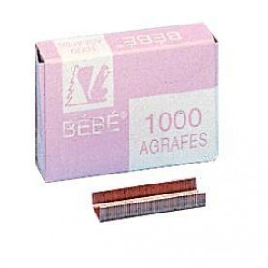 BTE1000 AGRAFE BEBE 8/4 CUIVRE