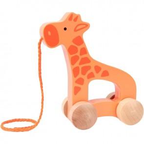 Maxi girafe à tirer