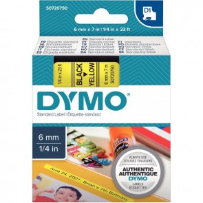 RECH DYMO D1  6MMX7M NOI/JNE
