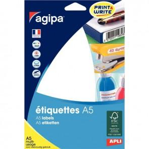 ETUI   48 ETIQ ADH A5 64X133