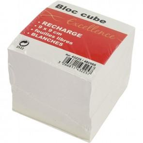 RECHARGE CUBE BLANC 9X9X9CM