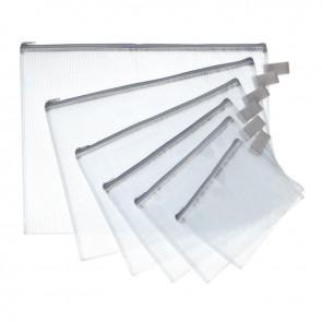 POCHETTE PVC 40X30 ZIP