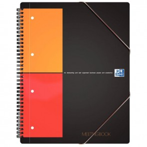 MEETINGBOOK A4+ 5X5 PERF