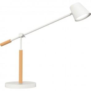 LAMPE LED VICKY BOIS/BLC