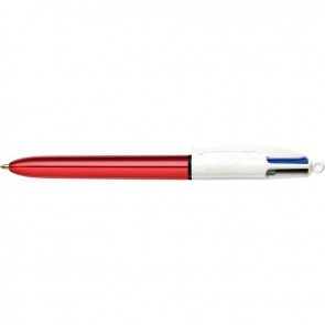 STYLO BILLE 4COUL SHINE ROUGE