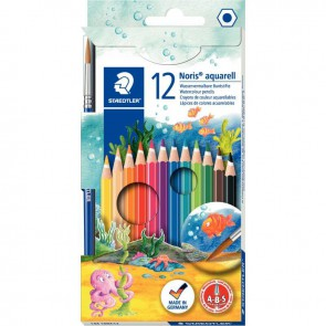 12 crayons couleur