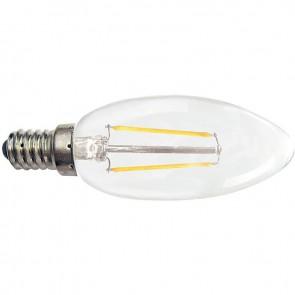 AMPOULE LEDFLAMME LISSE E14 2W